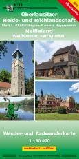 Heide- Teichlandschaft - Blatt 1- Krabatregion/ Kamenz, Hoyerswerda - vergriffen, z.Zt. nicht lieferbar
