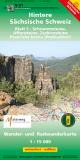 Hintere Sächsische Schweiz - Blatt 1 - Schrammsteine, Affensteine, Zschirnsteine