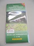 Kartenhülle für Wander- und Radwanderkarten