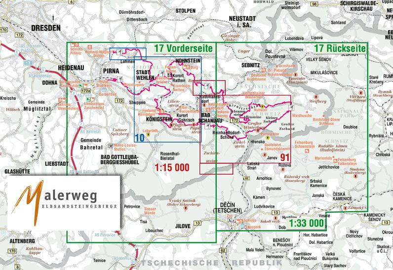Malerweg Elbsandsteingebirge