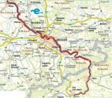 Elberadweg zwischen Riesa und Ústí nad Labem - vergriffe, z.Zt. nicht lieferbar